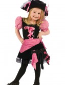 Toddler Pink Punk Pirate Costume, halloween costume (Toddler Pink Punk Pirate Costume)