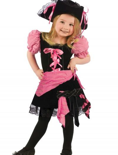 Toddler Pink Punk Pirate Costume, halloween costume (Toddler Pink Punk Pirate Costume)