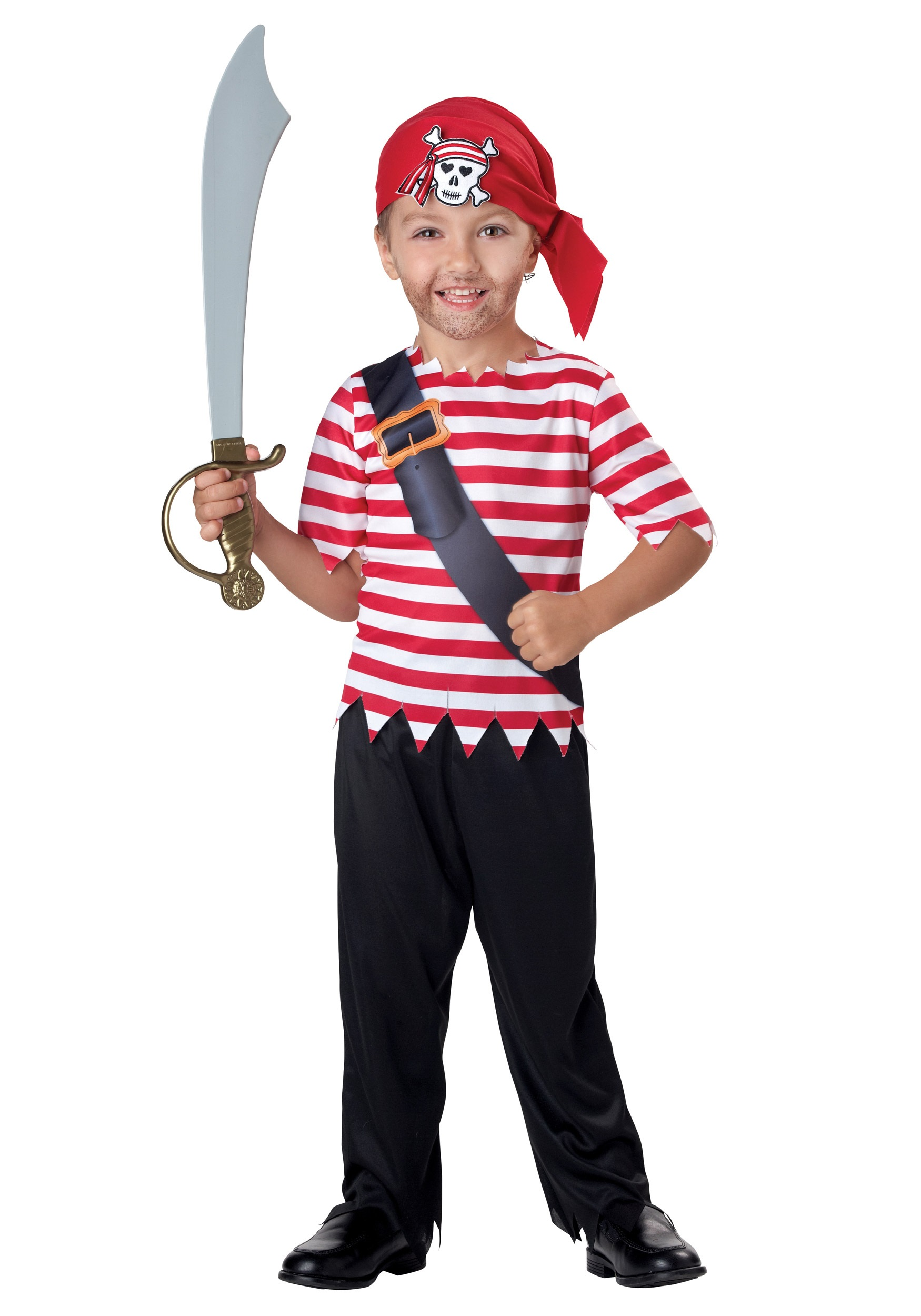 Toddler Pirate Costume  sc 1 st  Halloween Costumes & Toddler Pirate Costume - Halloween Costumes