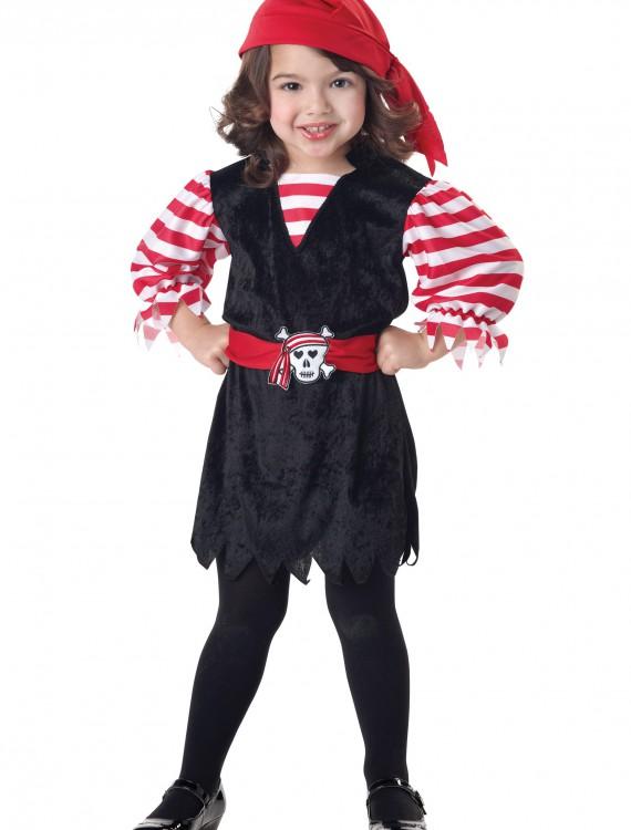 Toddler Pirate Cutie Costume, halloween costume (Toddler Pirate Cutie Costume)