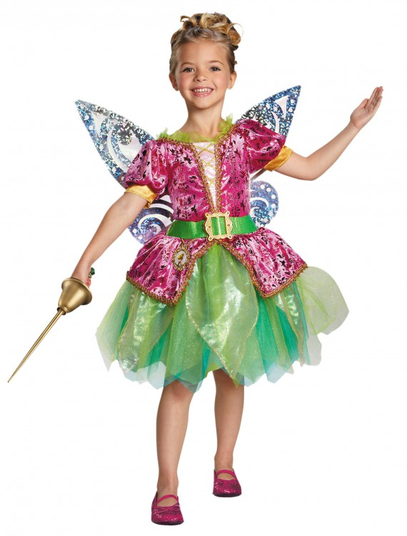 Toddler Pirate Fairy Tinker Bell Deluxe Costume, halloween costume (Toddler Pirate Fairy Tinker Bell Deluxe Costume)