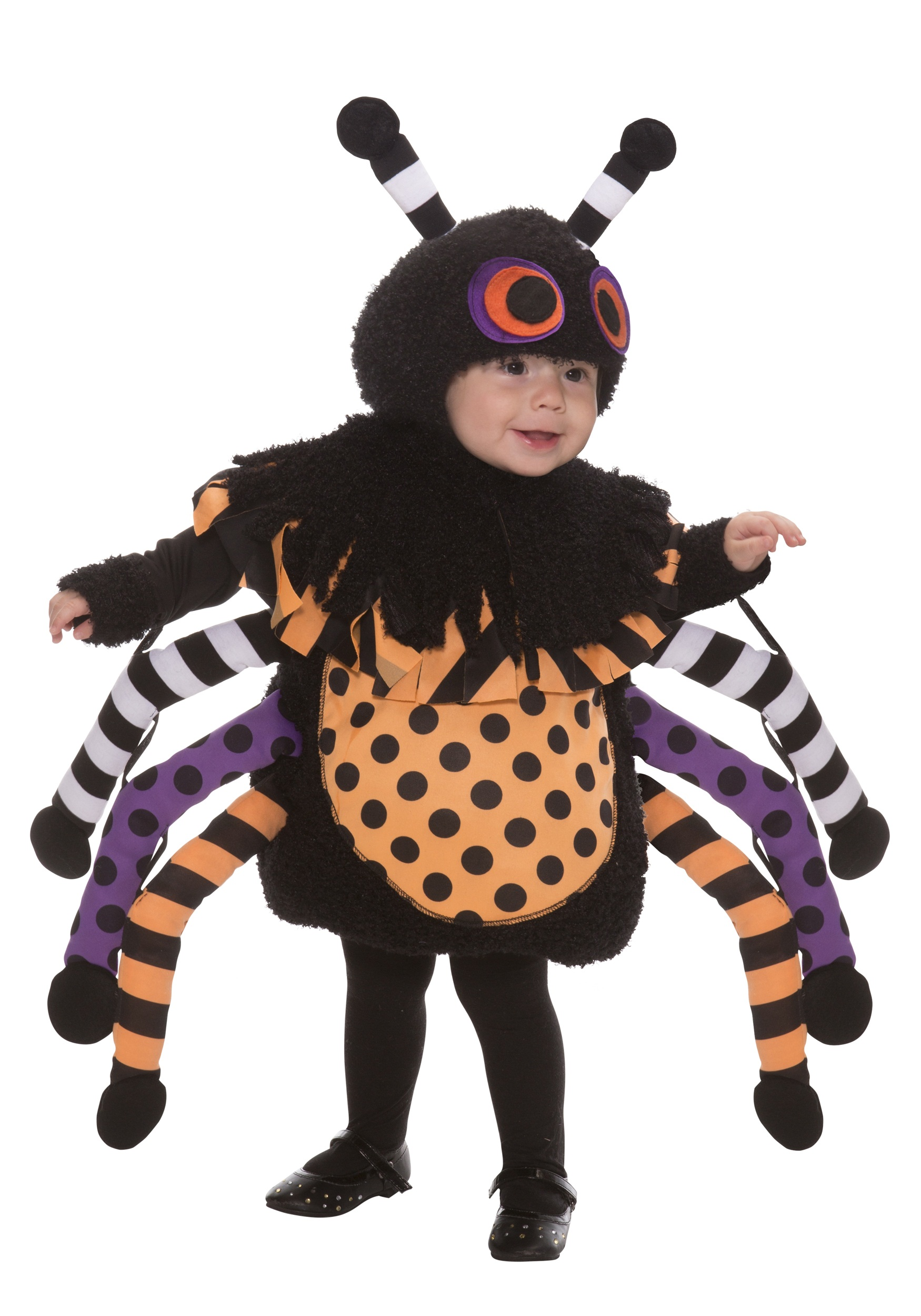 Toddler Polka Dot Spider Costume  sc 1 st  Halloween Costumes : spider costume for kids  - Germanpascual.Com