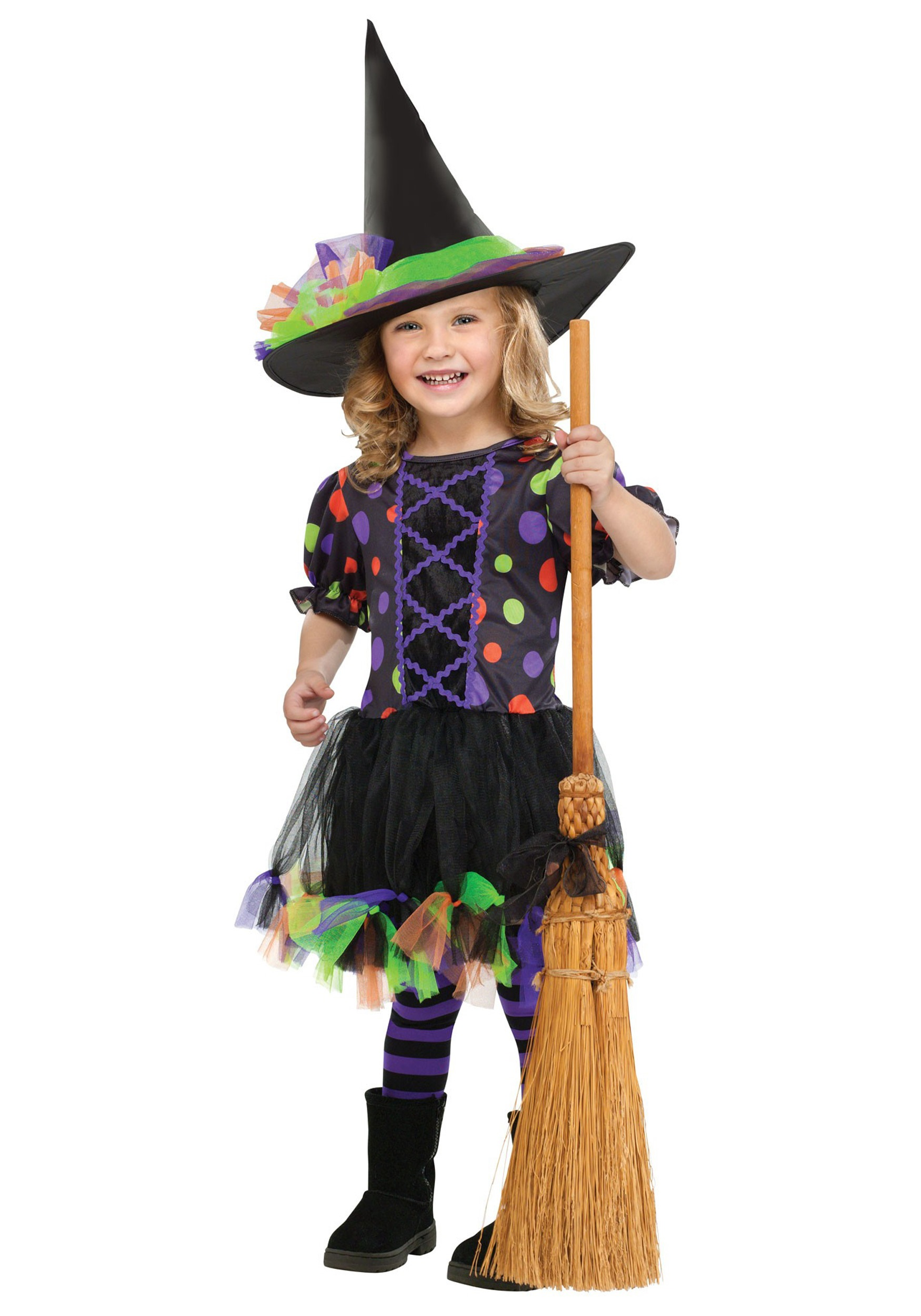 toddler polka dot witch costume costumes  sc 1 st  Best Kids Costumes & Costumes For Kids Witch - Best Kids Costumes