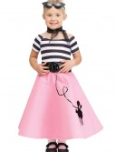 Toddler Poodle Skirt Dress, halloween costume (Toddler Poodle Skirt Dress)