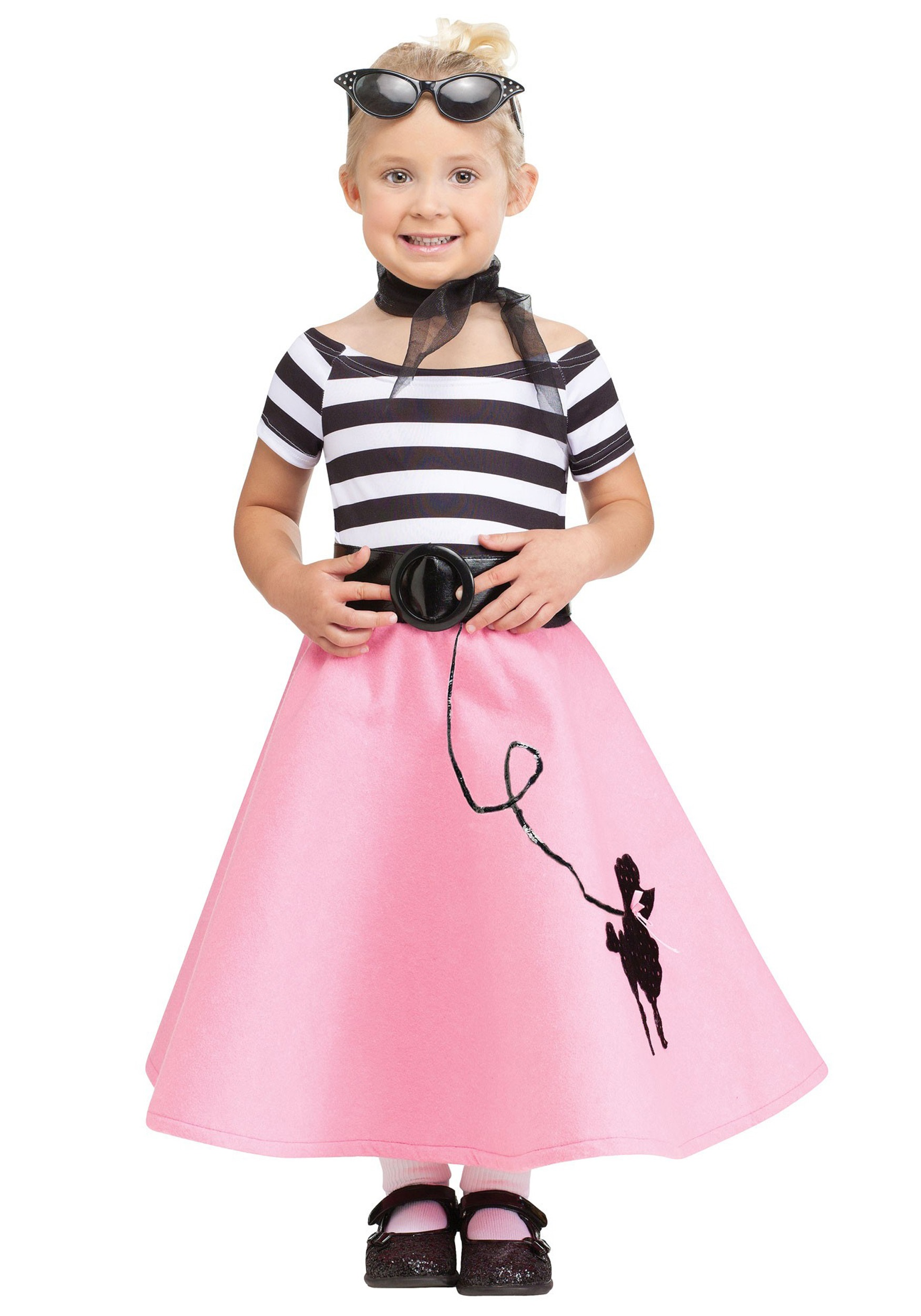 Toddler Poodle Skirt Dress - Halloween Costumes