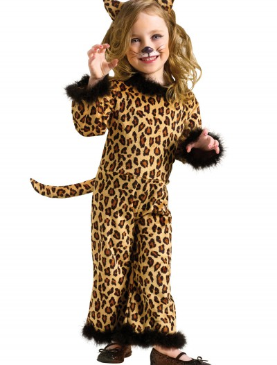 Toddler Pretty Leopard Costume, halloween costume (Toddler Pretty Leopard Costume)