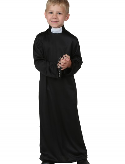 Toddler Priest Costume, halloween costume (Toddler Priest Costume)