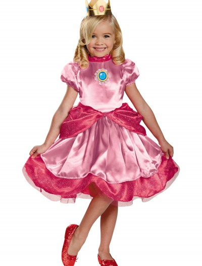 Toddler Princess Peach Costume, halloween costume (Toddler Princess Peach Costume)