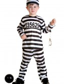 Toddler Prisoner Costume, halloween costume (Toddler Prisoner Costume)