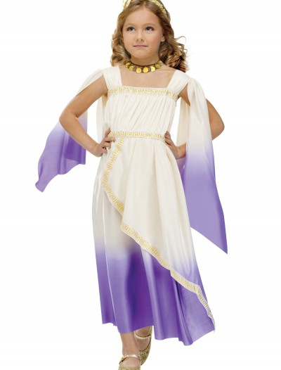 Toddler Purple Goddess Costume, halloween costume (Toddler Purple Goddess Costume)