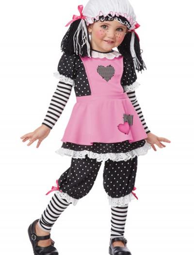 Toddler Rag Dolly Costume, halloween costume (Toddler Rag Dolly Costume)