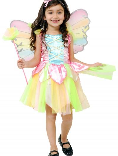 Toddler Rainbow Fairy Costume, halloween costume (Toddler Rainbow Fairy Costume)