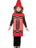Toddler Red Crayon Costume, halloween costume (Toddler Red Crayon Costume)