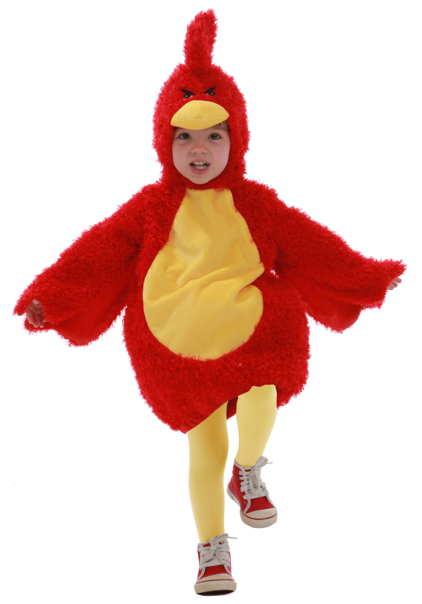 Toddler Red Grumpy Bird Costume - Halloween Costumes