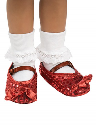 Child Ruby Shoe Covers, halloween costume (Child Ruby Shoe Covers)