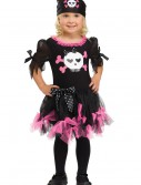 Toddler Sally Skully Pirate Costume, halloween costume (Toddler Sally Skully Pirate Costume)
