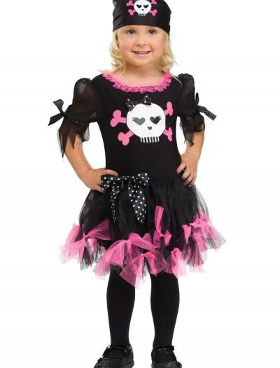 Toddler Sally Skully Pirate Costume, halloween costume (Toddler Sally Skully Pirate Costume)