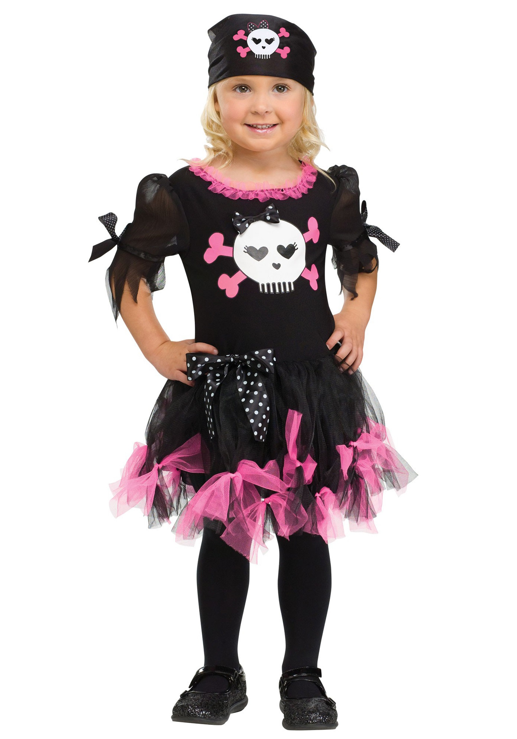 Toddler Sally Skully Pirate Costume  sc 1 st  Halloween Costumes & Toddler Sally Skully Pirate Costume - Halloween Costumes