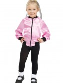 Toddler 50s Ladies Satin Jacket, halloween costume (Toddler 50s Ladies Satin Jacket)