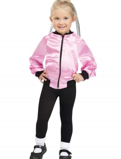 Toddler 50s Ladies Satin Jacket, halloween costume (Toddler 50s Ladies Satin Jacket)