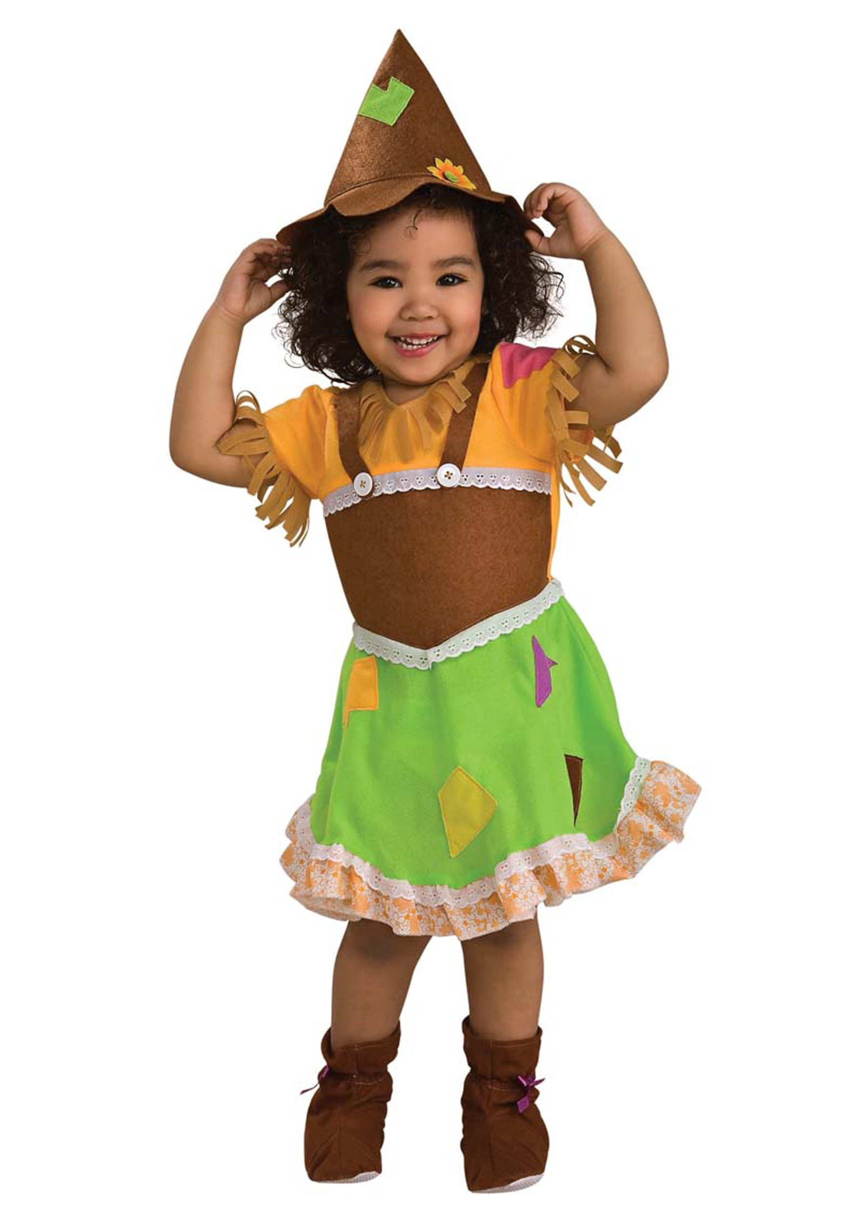 Toddler Scarecrow Girl Costume Halloween Costumes