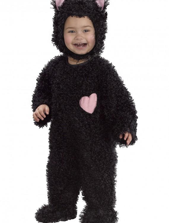 Toddler Scruffy Black Kitty Costume, halloween costume (Toddler Scruffy Black Kitty Costume)