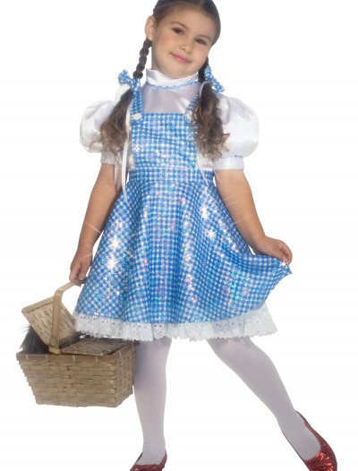 Toddler Sequin Dorothy Costume, halloween costume (Toddler Sequin Dorothy Costume)