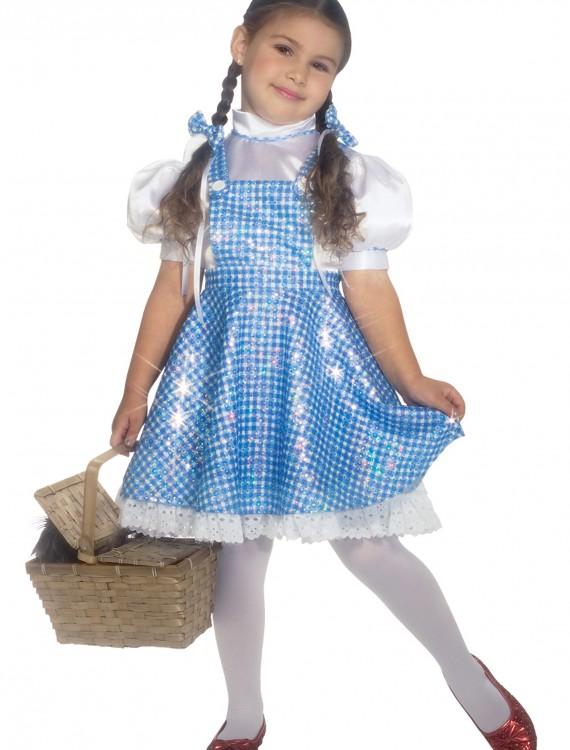 Toddler Sequin Dorothy Costume, halloween costume (Toddler Sequin Dorothy Costume)