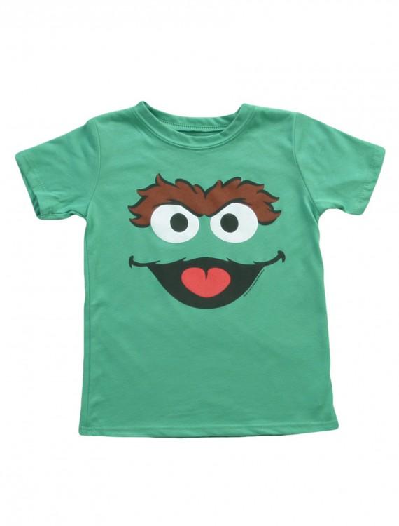 Toddler Sesame Street Oscar T-Shirt, halloween costume (Toddler Sesame Street Oscar T-Shirt)