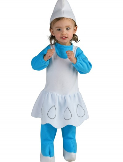 Toddler Smurfette Costume, halloween costume (Toddler Smurfette Costume)