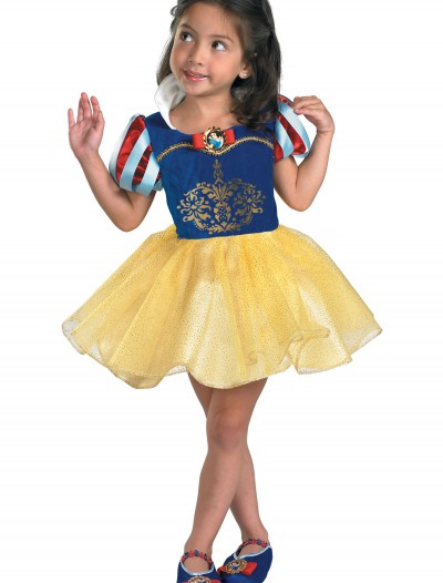 Toddler Snow White Ballerina Costume, halloween costume (Toddler Snow White Ballerina Costume)
