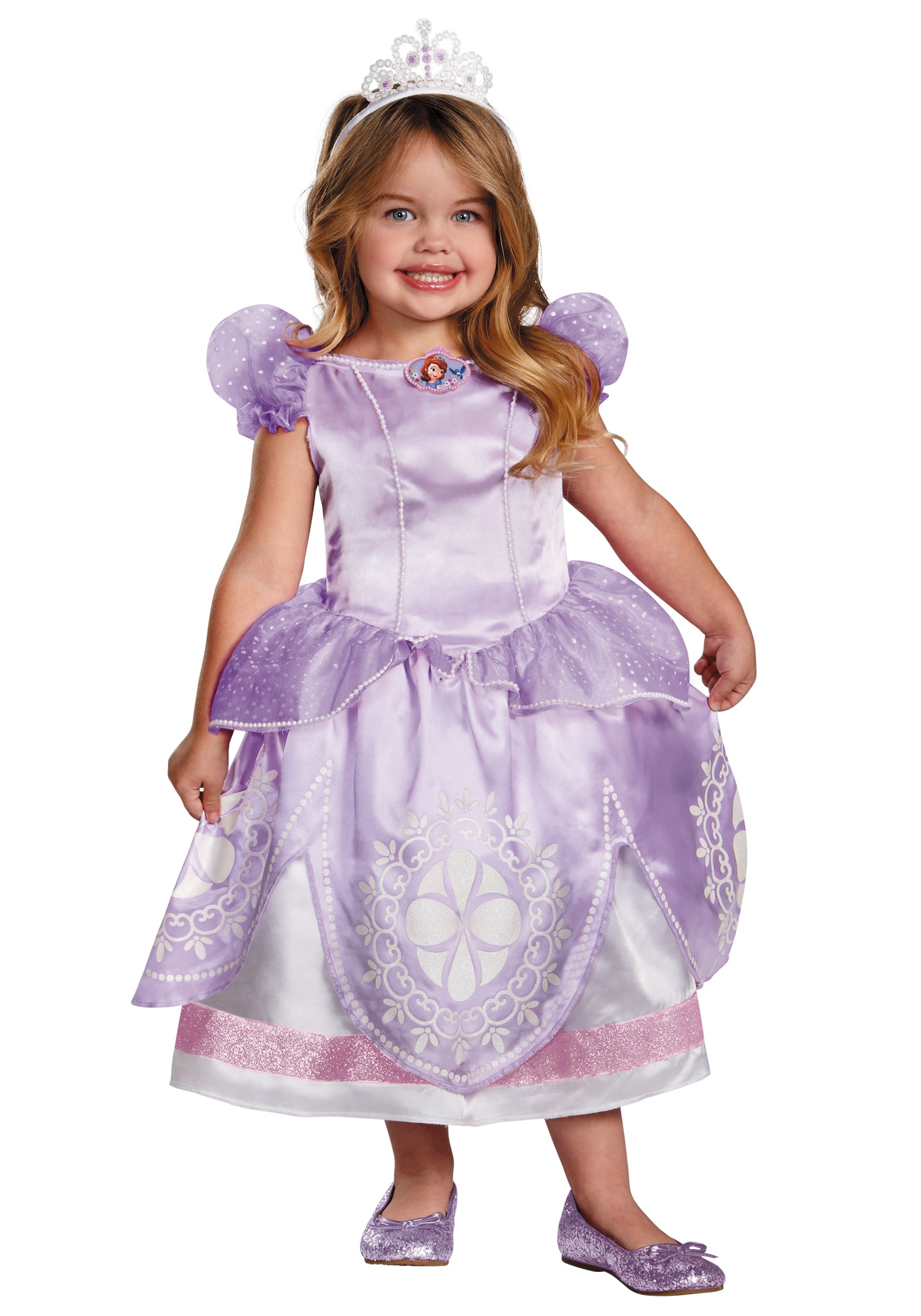 Toddler Sofia the First Deluxe Costume  sc 1 st  Halloween Costumes & Toddler Sofia the First Deluxe Costume - Halloween Costumes