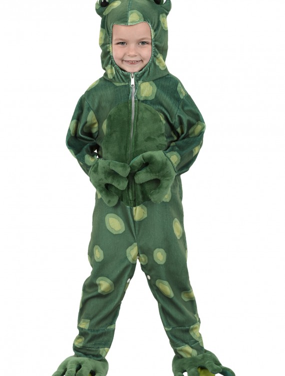 Toddler Speckled Frog Costume, halloween costume (Toddler Speckled Frog Costume)
