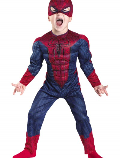 Toddler Spider-Man Movie Muscle Costume, halloween costume (Toddler Spider-Man Movie Muscle Costume)