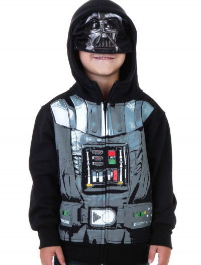 Toddler Star Wars Darth Vader Costume Hoodie, halloween costume (Toddler Star Wars Darth Vader Costume Hoodie)