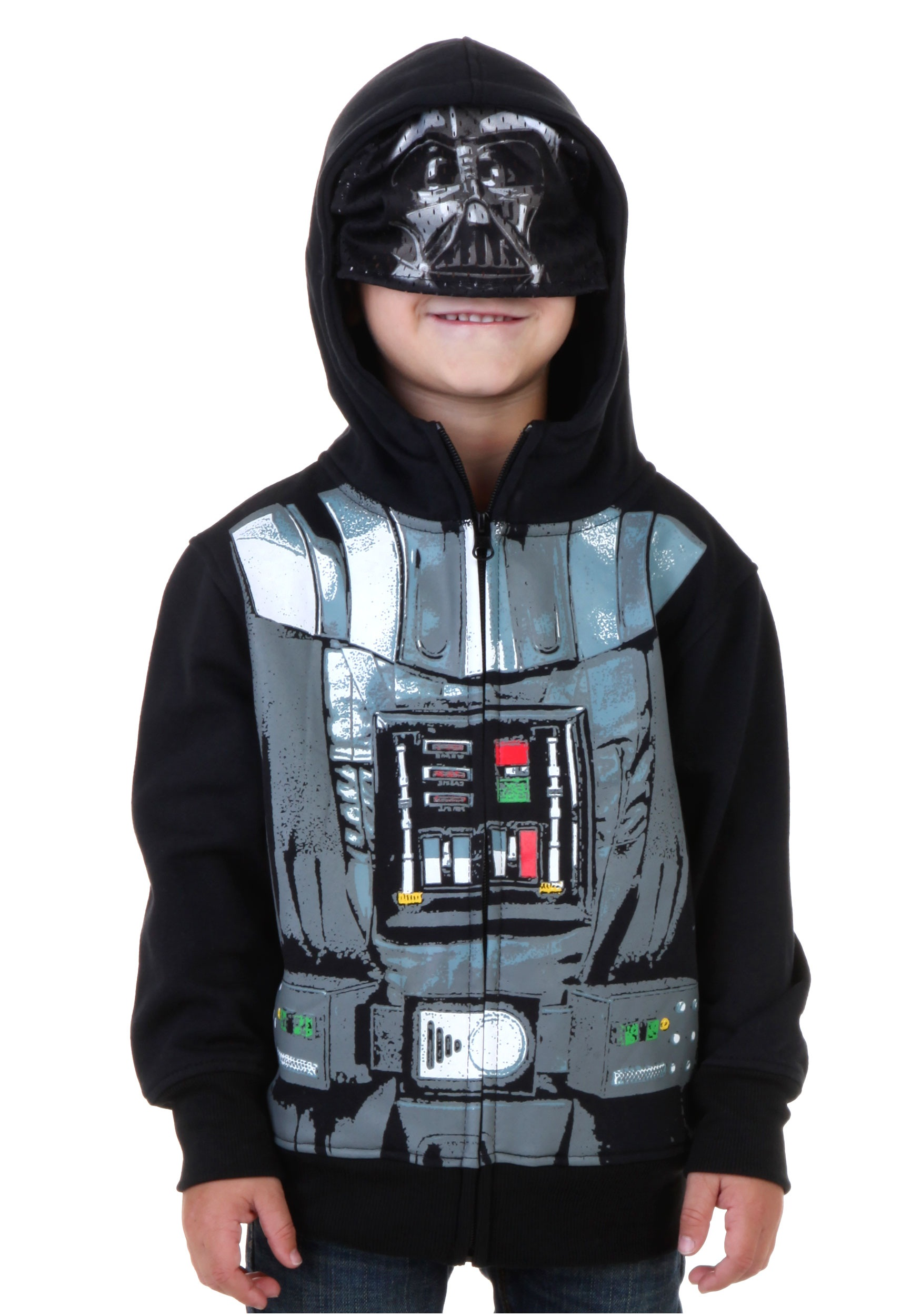 toddler star wars darth vader costume hoodie - Halloween Darth Vader