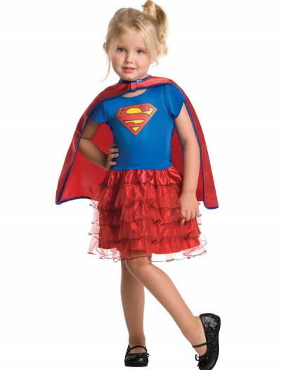 Toddler Supergirl Tutu Set, halloween costume (Toddler Supergirl Tutu Set)