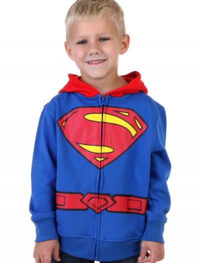 Toddler Superman Logo Costume Hoodie, halloween costume (Toddler Superman Logo Costume Hoodie)