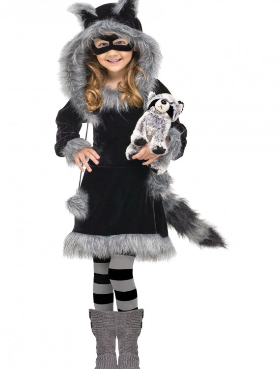 Toddler Sweet Raccoon Costume, halloween costume (Toddler Sweet Raccoon Costume)
