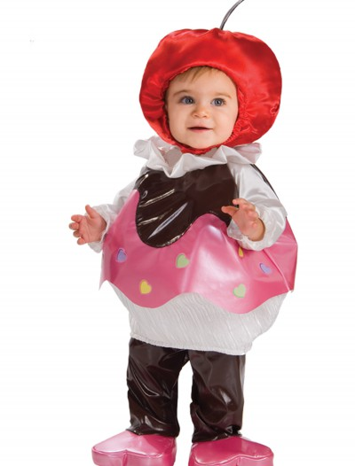Toddler Sweetheart Cupcake Costume, halloween costume (Toddler Sweetheart Cupcake Costume)