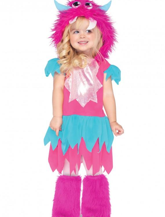 Toddler Sweetheart Monster Costume, halloween costume (Toddler Sweetheart Monster Costume)