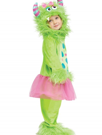 Toddler Terror in a Tutu Green Costume, halloween costume (Toddler Terror in a Tutu Green Costume)