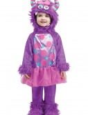 Toddler Terror in a Tutu Purple Costume, halloween costume (Toddler Terror in a Tutu Purple Costume)