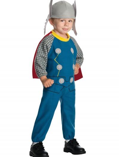Toddler Thor Fleece Jumpsuit, halloween costume (Toddler Thor Fleece Jumpsuit)