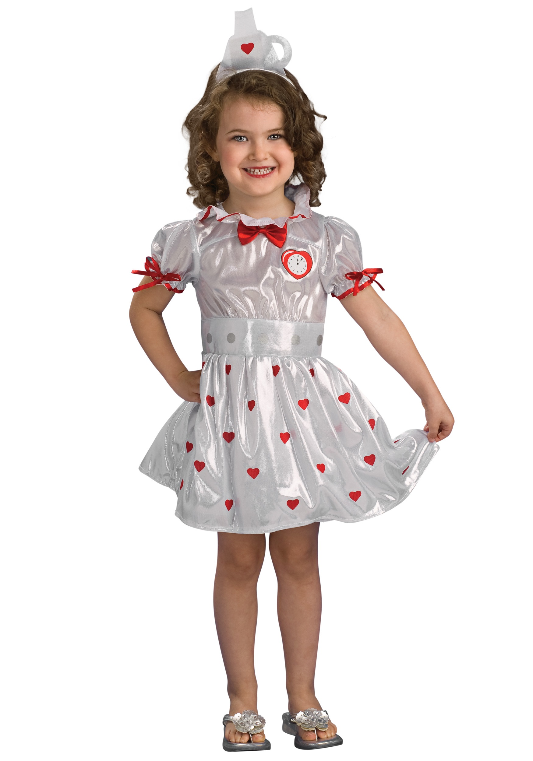 Toddler Tin Girl Costume Halloween Costumes