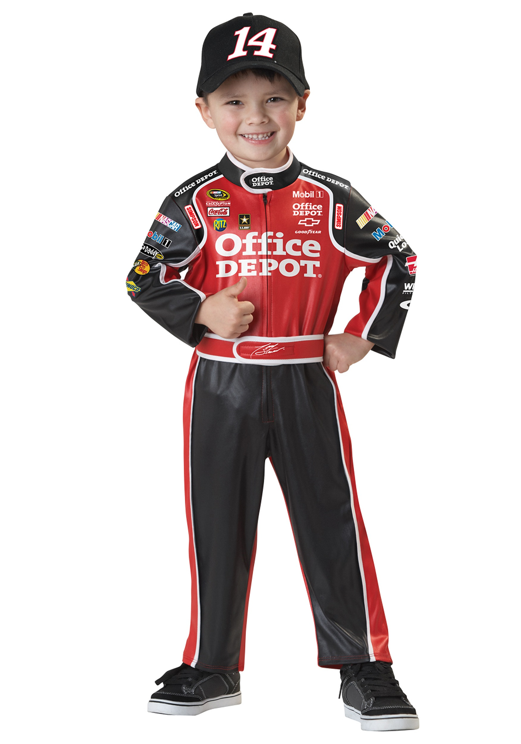 Toddler Tony Stewart Costume  sc 1 st  Halloween Costumes : kids baseball costumes  - Germanpascual.Com