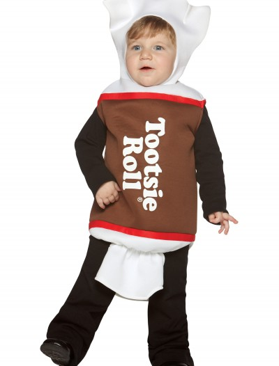Toddler Tootsie Roll Costume, halloween costume (Toddler Tootsie Roll Costume)