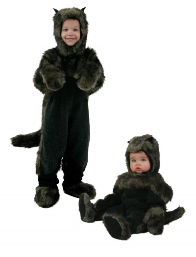 Toddler Black Dog Costume, halloween costume (Toddler Black Dog Costume)