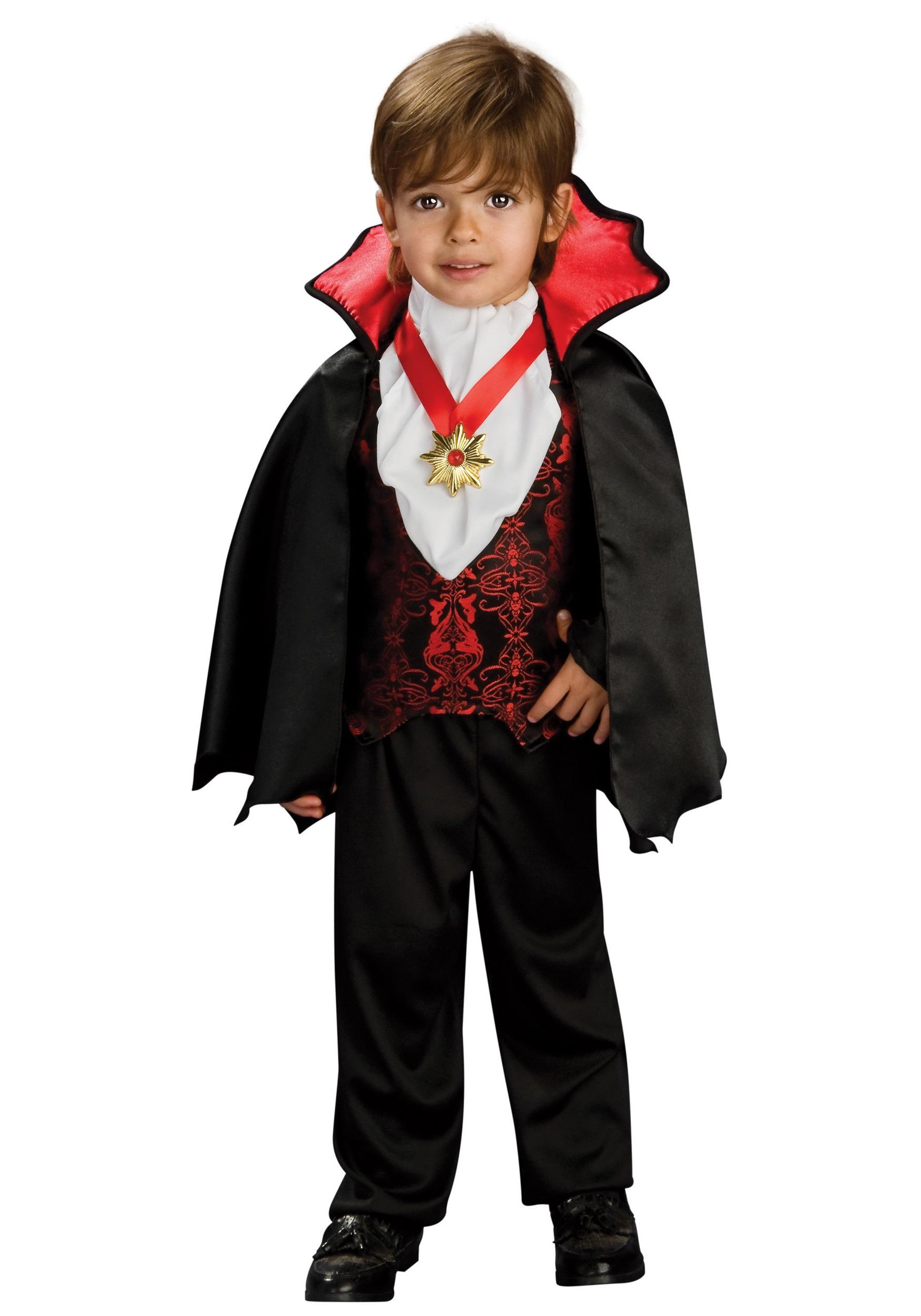 Halloween Vampire Costume Kids.Toddler Transylvanian Vampire Costume