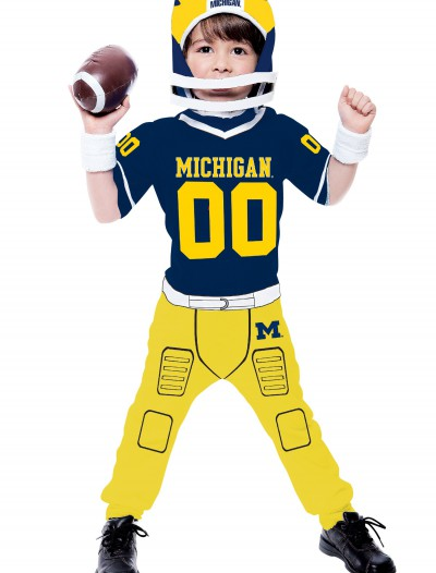 Toddler University of Michigan Football Costume, halloween costume (Toddler University of Michigan Football Costume)